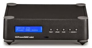 WADIA 151 POWER DAC MINI BLACK AMPLIFICATORE INTEGRATO CON DAC GARANZIA UFF.