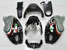 Black Silver ABS Injection Mold Bodywork Fairing for Ducati Monster 696 796 1100