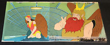 Original Flash Gordon Animation Cel Painted Background BG71 FG29