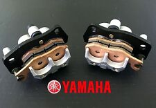 YAMAHA RHINO 660 FRONT LEFT RIGHT BRAKE CALIPER PADS ASSEMBLY YXR660