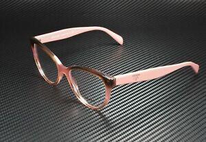 PRADA PR 01UV VX51O1 Heritage Gradient Bordeaux Demo Lens 52m Women's Eyeglasses