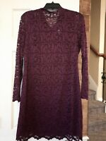 Isaac Mizrahi Live!  Dress Lace Plum color, Size Small, New without tags.