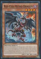 Yugioh Card - Red-Eyes Retro Dragon *Common* LDK2-ENJ04 (NM/M)