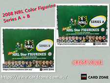 2008 Select NRL Stars Figurines Factory Box A + Box B (2 boxes-total 60)-- Value