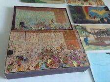 Puzzle cube Tintin fabrication artisanale  TBE