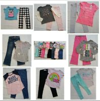 Size 5 NWT BTS 16-Pc Fall SCHOOL Lot Buy All or Some Carters OshKosh Total Girl