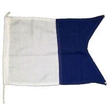 Code Flag 'A' Dive Boat Flag - 1/2 Yard (30cm x 45cm)