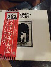 John Lennon/Yoko Ono-Wedding Album-Japanese box set-complete- all inserts/poster
