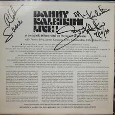 Danny Kaleikini(Vinyl LP Signed)Live At The Kahala Hilton Hotel-VG/Ex