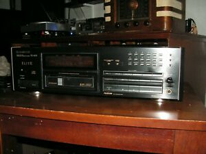 RARE PIONEER ELITE PD-M53 CD 6 Disc and SINGLE CD cartridge Included/NICE!!!