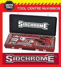 "SIDCHROME SCMT19120 64pce METRIC & A/F 1/4"", 3/8""  & 1/2"" DRIVE SOCKET SET"