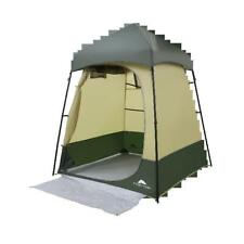 Portable Camping Shower Tent Lighted Changing Room Privacy Toilet Bath Shelter