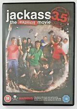 Jackass The Explicit Movie 3.5 (DVD, 2011) Cult Reality Comedy Film, Region 2