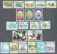 Jersey-1980 year set complete mnh commemoratives
