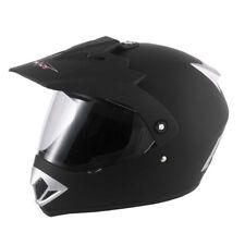 V-Can V370 Adult BMX Quad Mx Motorbike Motocross Helmet Enduro Matt Black XS