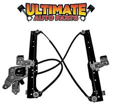 Rear Power Window Regulator Drivers LH w/Motor for 02-06 Chevy Avalanche