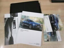 AUDI Q7 OWNERS MANUAL INC NAV HANDBOOK & WALLET MODELS 2015-2018 INC NAV