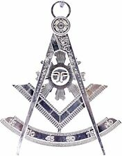 Past Master Masonic Collar Jewel Silver