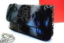 36b72b7cc95b Christian Audigier Snake Skin Handbag-Black Silver- FREE34 SHIPPING