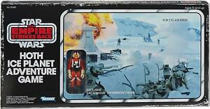 Hasbro Star Wars Hoth Ice Planet Retro Board Game Kenner Style Ages 8+