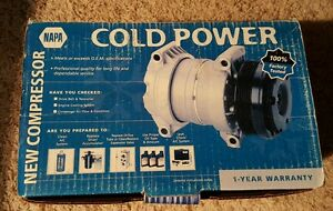 New NAPA Cold Power 3638588 A/C Compressor w/ Clutch Ford Lincoln Mercury