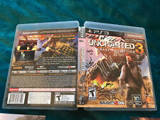 Uncharted 3: Drake's Deception Signed by  Naughty Dog - Playstation 3