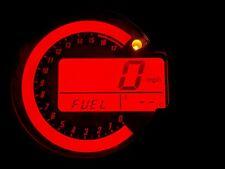 RED KAWASAKI Z1000 03-06 LED CLOCK KIT LIGHTENUPGRADE