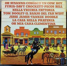 The Country Baby Group - Canzoncine Del West LP Mint- LPUP 5128 Italy 1977 Vinyl