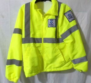 SSC AA 641 Security Officer Jacket Size M Two Large Uniform Shirts Lot