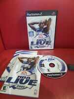 NBA Live 2001 (Sony PlayStation 2, 2001)