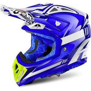 Airoh Aviator 2.2 Off Road Motocross Helmet For Motorcycle Motorbike DD Anello
