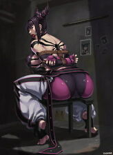 "040 Juri Han - Street Fighter Sexy Korea Challenger ArtPinup 14""x19"" Poster"