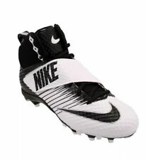 Nike Lunarbeast Strike Pro TD Football Cleats 833421-100,White Black,Men's (B8)