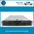 DELL R710 - 2x Intel Xeon Quad/Hex Core - Up To 128GB RAM - PERC6i - 2xPSU/DVD