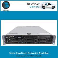 DELL R710 - 2x Intel Xeon Quad/Hex Core - Up To 128GB RAM - PERC6i - 2xPSU