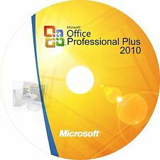 Microsoft Office 2010 Pro Plus Genuine Full Complete Software