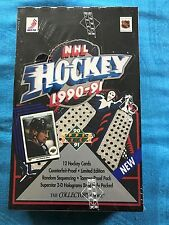 1990-91 Hockey - Factory sealed box - Upper Deck - NHL