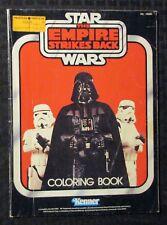 1982 STAR WARS Empire Strikes Back Coloring Book VG 4.0 Darth Vader / Kenner