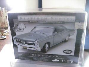 Testors Platinum  1/24  66 Pontiac  GTO   sealed box