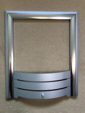 Fireplace Trim - Brush Chrome Metal Effect - FREE UK P+P