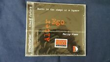 GLASS PHILIP  - ALTER EGO. MUSIC IN THE SHAPE OF A SQUARE. CD NUOVO SIGILLATO