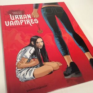 Urban Vampires French Edition Vents D Ouest #2 Hardcover Large Comic Book 2012