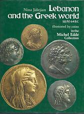 ANCIENT COINS Lebanon & the Greek World 333 - 64 BC Nina Jidejian hj numismatics
