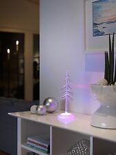 LED Acrylbaum,3 bunte Dioden,Weihnachtsdekoration,Leuchtbaum,Farbwechsel,Neu&Ovp