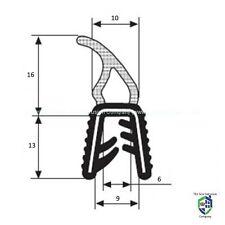 Gran ajuste del borde de goma coche aleta expuestos sello-Barco Caravana Puerta Bonnet Boot