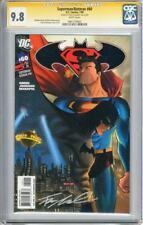 Superman Batman #60 CGC SS 9.8 Signed by Francis Manapul