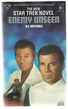 Star Trek Enemy Unseen V E Mitchell Titan 1990 2nd Printing UK Paperback Good