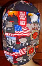 US Marines 100% cotton, Welding, Biker, pipefitter,4 panel hat