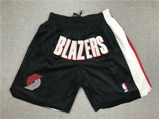 Portland Trail Blazers Retro Black Basketball Shorts Size: S-XXL