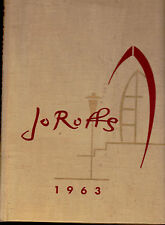 Saint John Fisher College 1963 Yearbook Jo Roffs Rochester NY